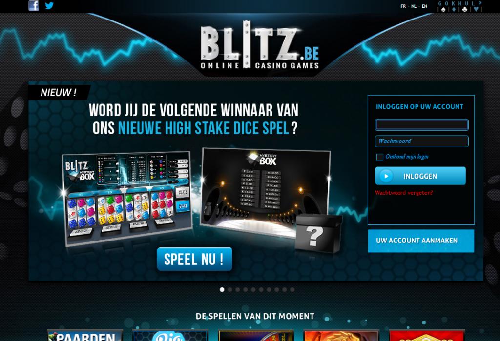 Blitz online casino België