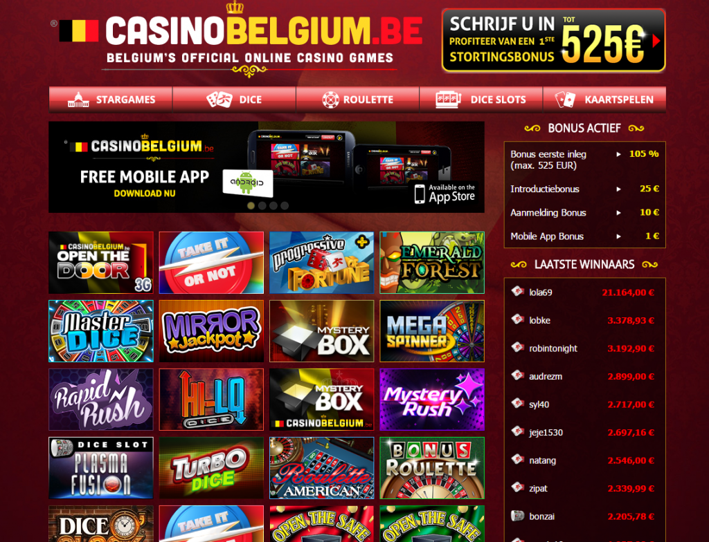 Casino Belgium online casino review
