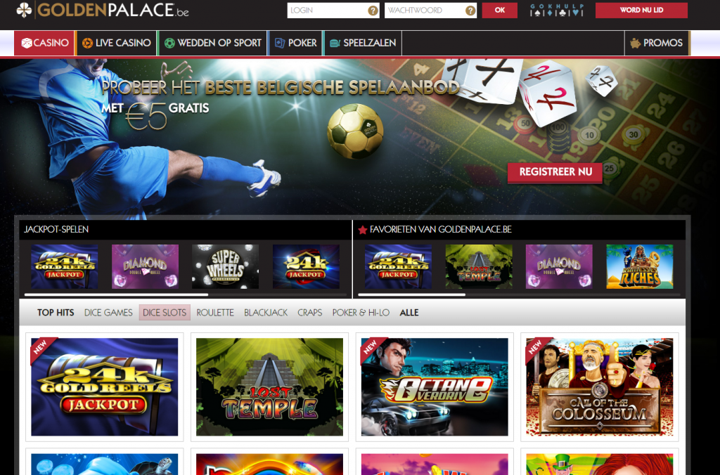 best online casino de golden casino games