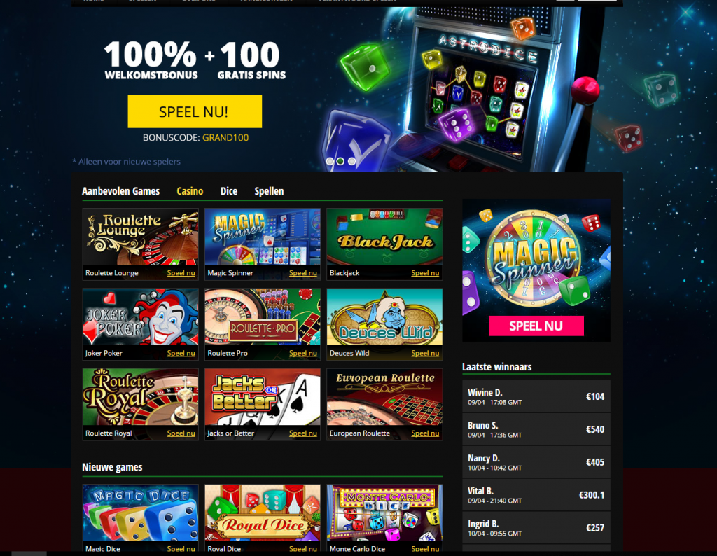 Grand Games Legaal Belgisch Online Casino