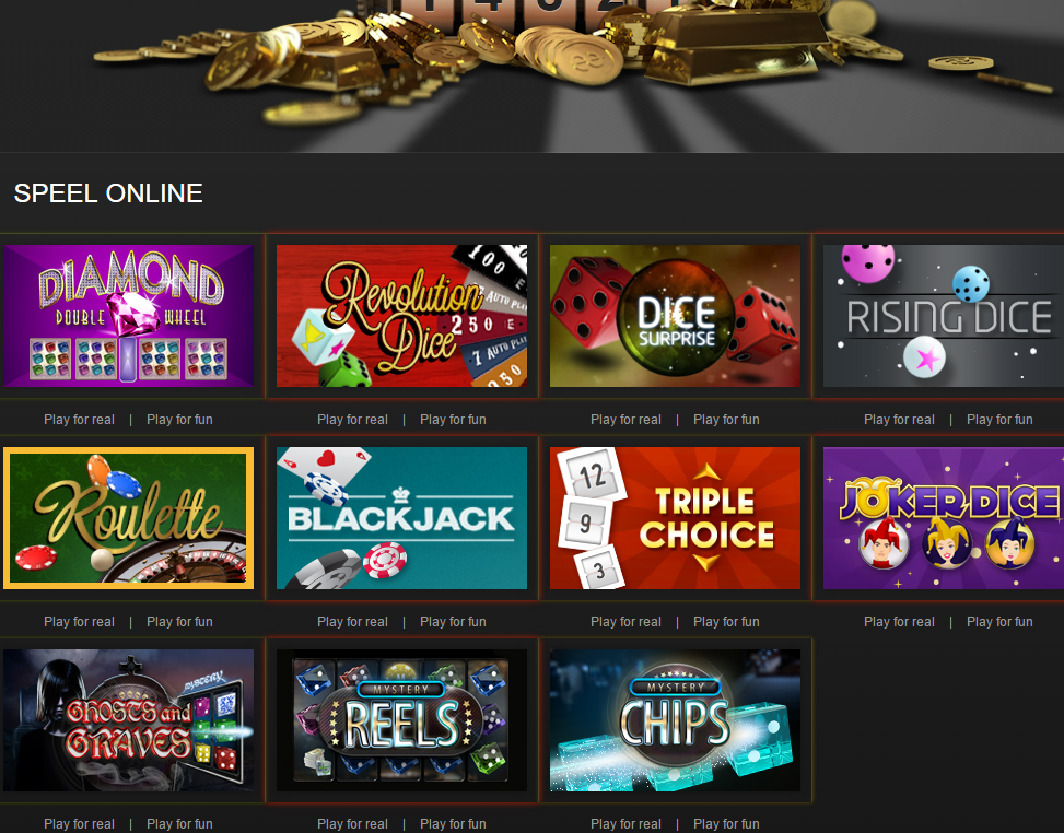 Magic Dice online casino review