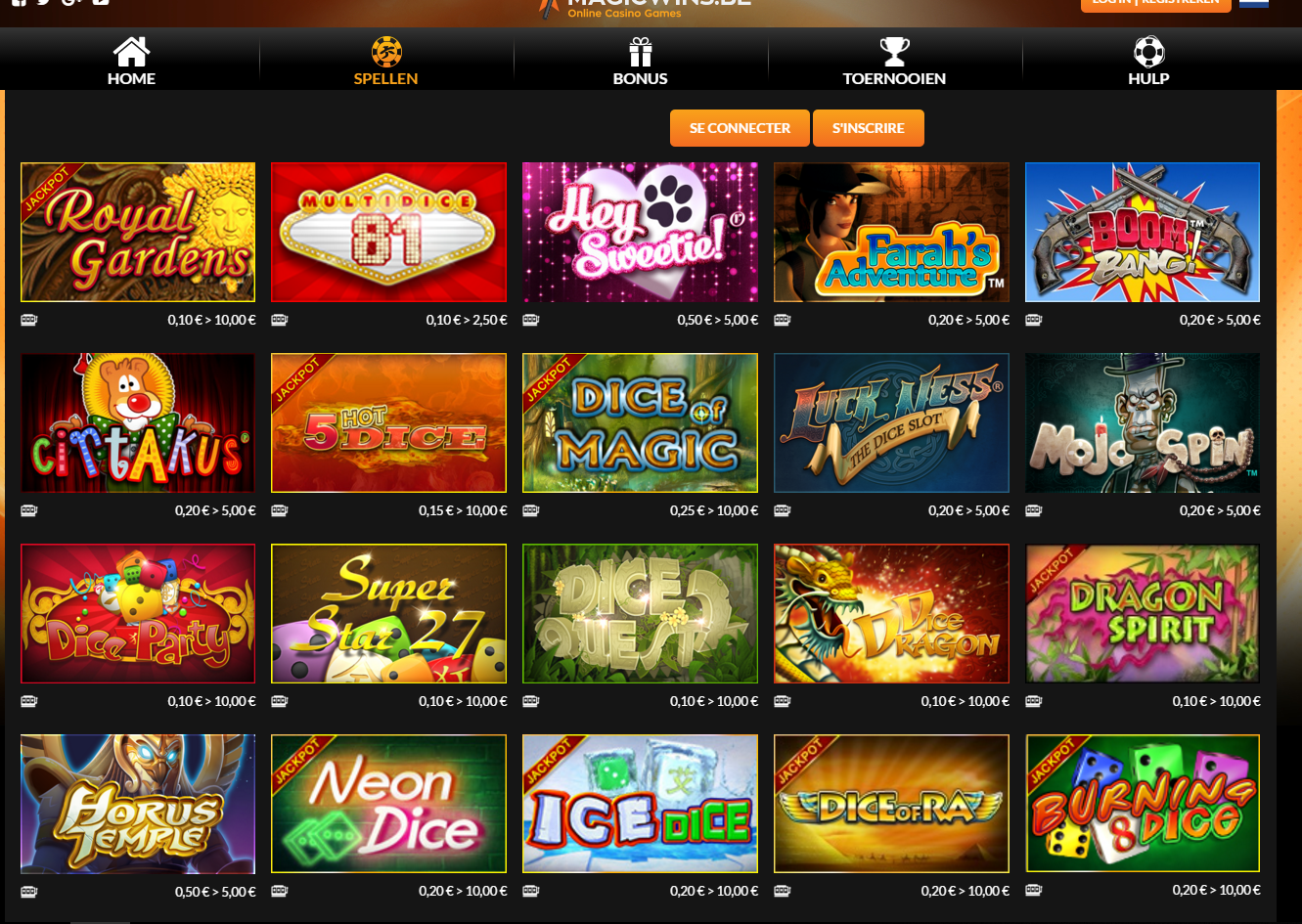 Magic Wins online casino review