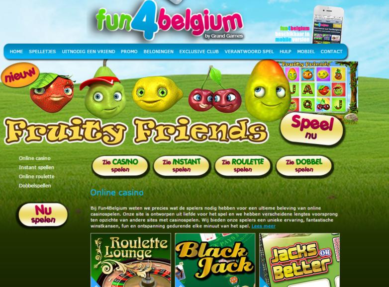 Fun4Belgium online casino