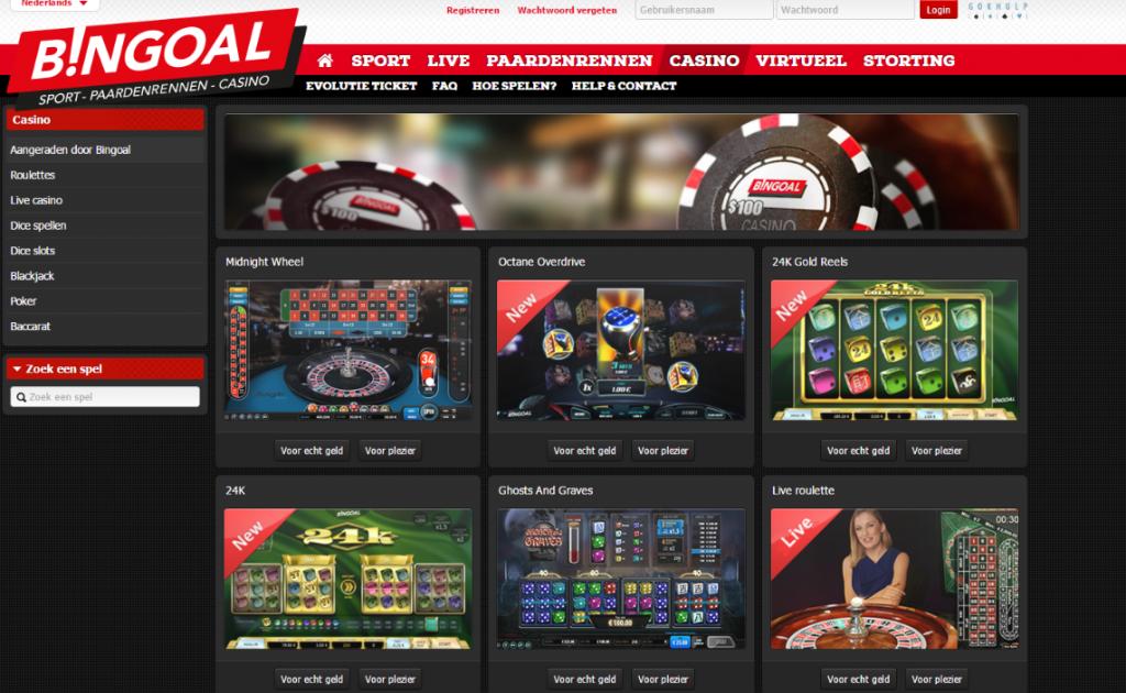 Bingoal online casino review
