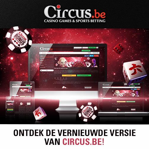 Circus online casino bonus