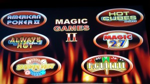 Magic Games II Novomatic