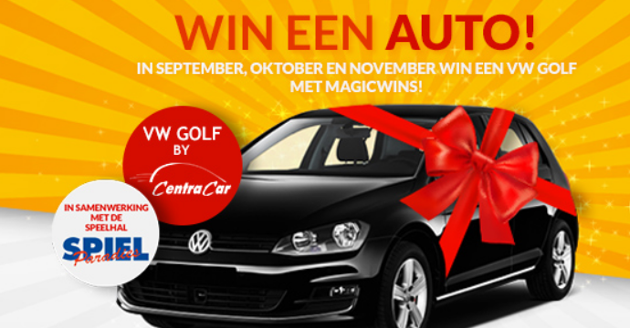 Magic Wins Spiel Paradies win een auto