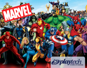 Marvel slot machines playtech