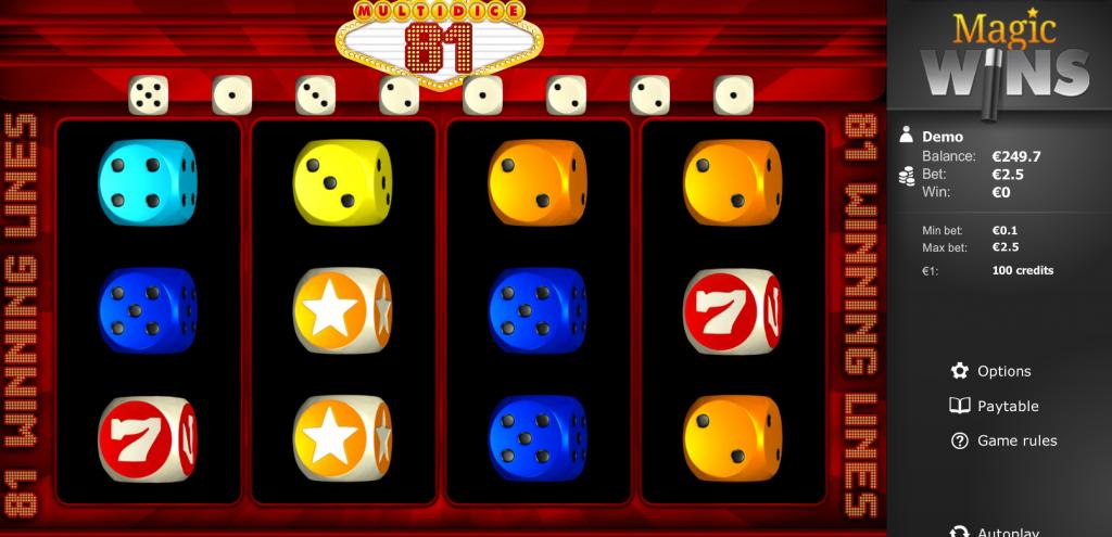 gratis multidice 81 spelen
