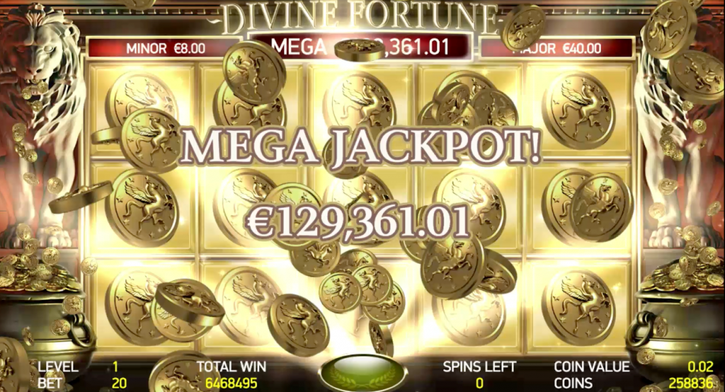 Divine Fortune Jackpot NetEnt