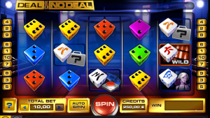 Deal or Deal dice slot