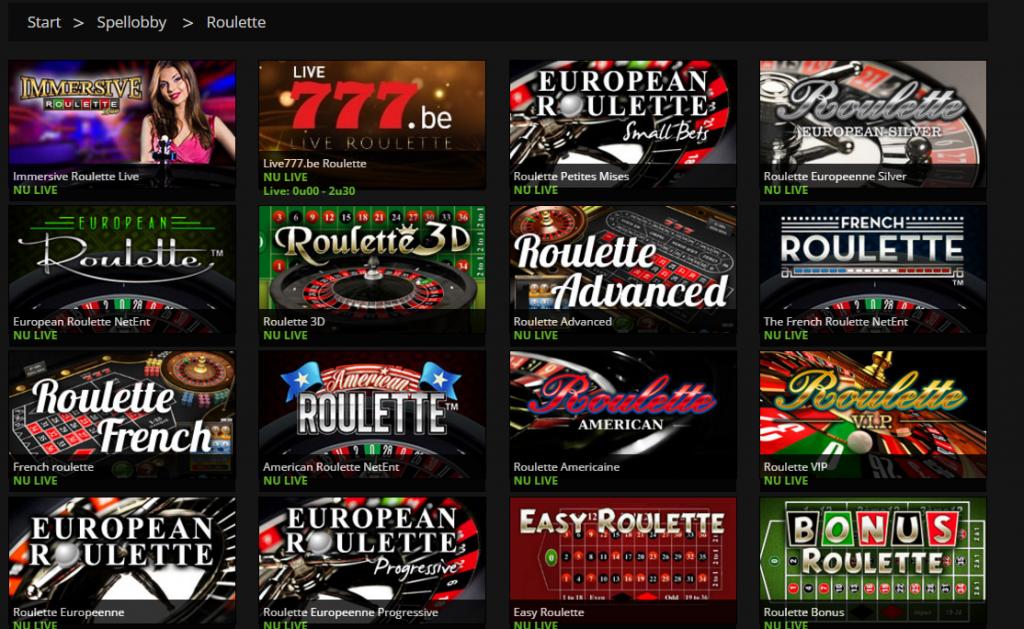 Casino 777 roulette