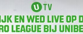Unibet Jupiler League Pro Live Stream