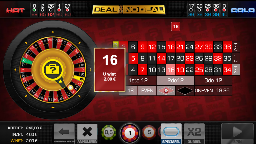 European Roulette Deal or no Deal