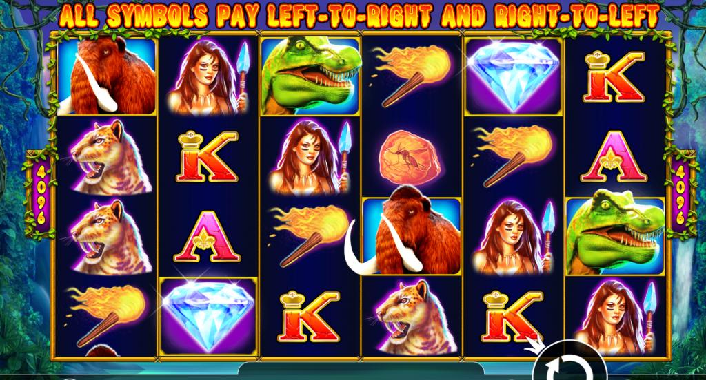 Jurassic Giants mini toernooi casino 777