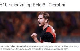 wedden op belgie - gibraltar
