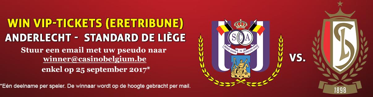 Casino Belgium Anderlecht Standard Luik