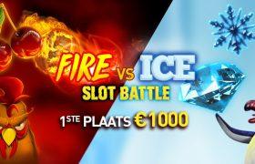 fire vs ice slot battle