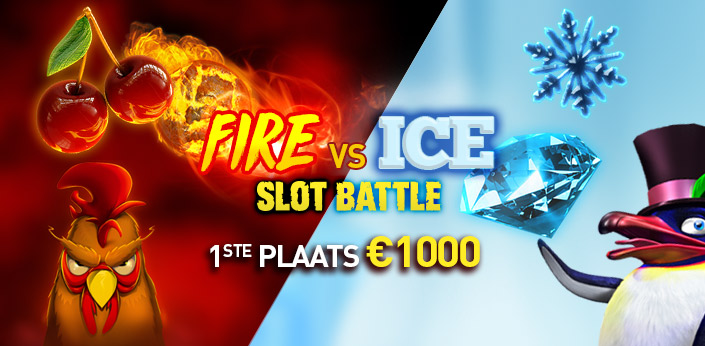 fire vs ice slot battle