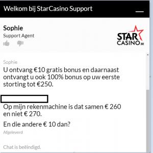 StarCasino helpdesk