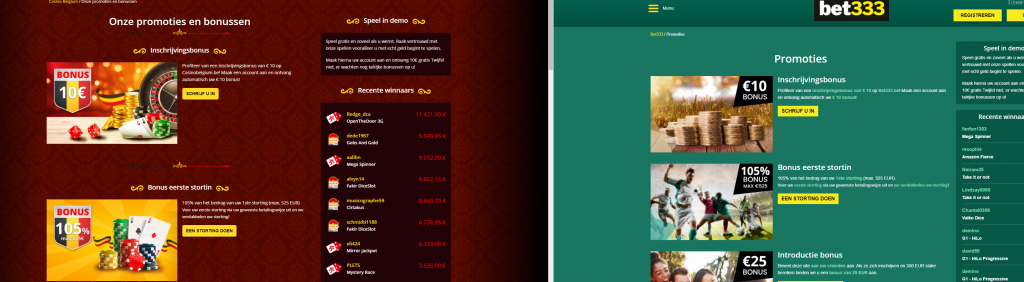 Casino Belgium Bet 333