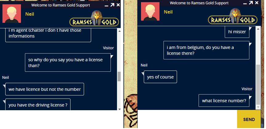 Ramses Gold Illegaal