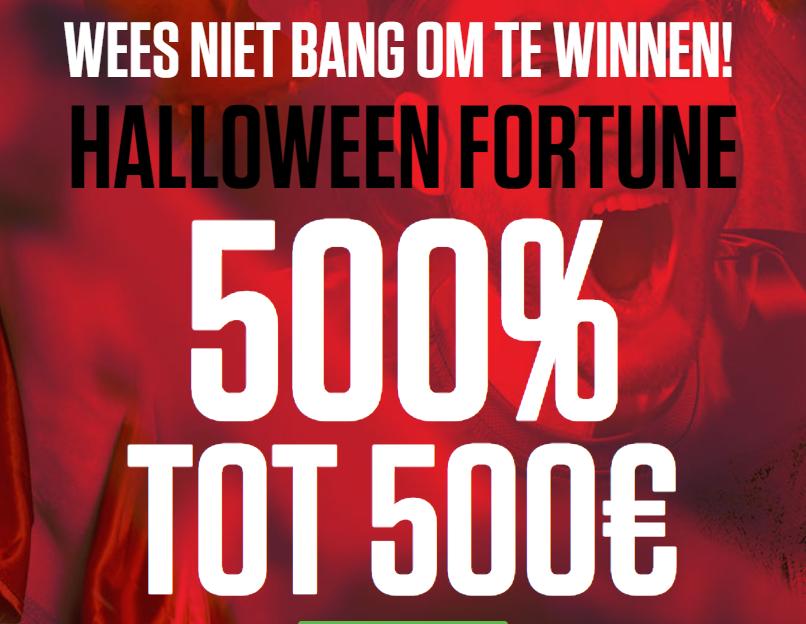 Ladbrokes Halloween bonus
