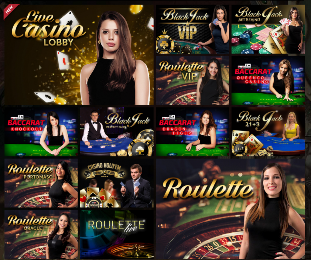 Golden Palace Live Casino