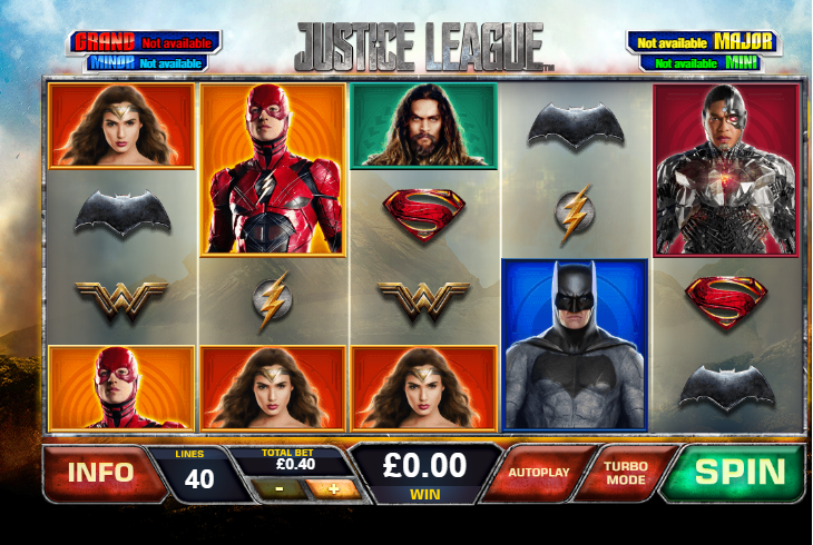 Justice League Ladbrokes