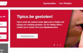Tipico gesloten belgie