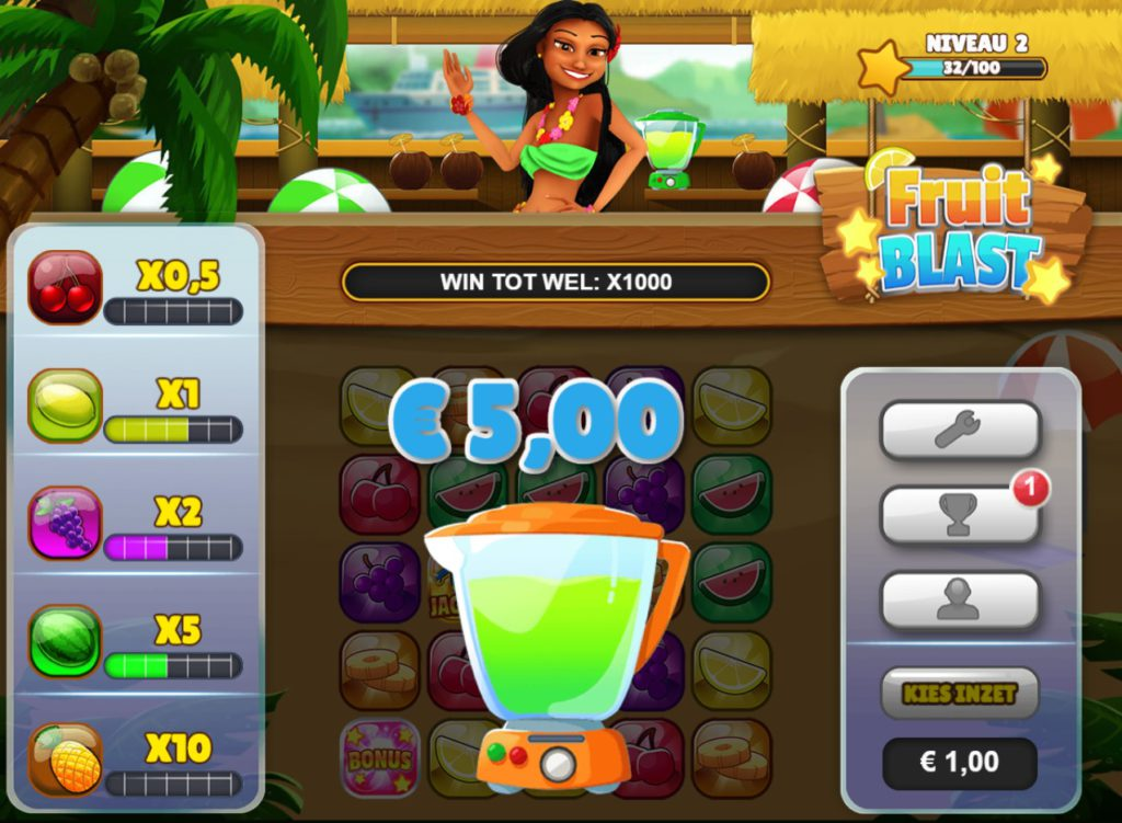 Fruit Blast candy crush voor geld