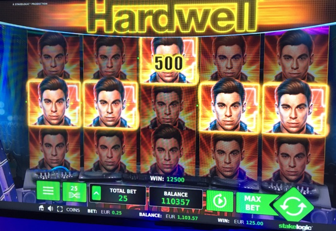 hardwell slot machine
