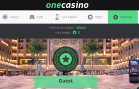One Casino legaal of illegaal