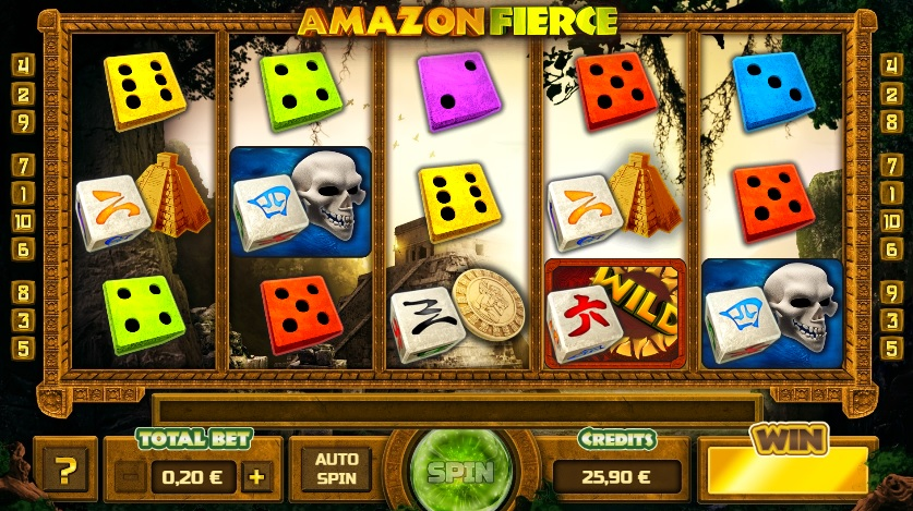 amazon fierce dice slot