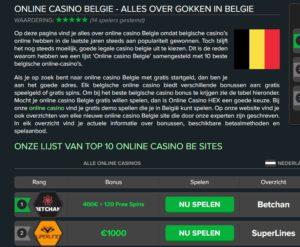 reclame illegale casino's