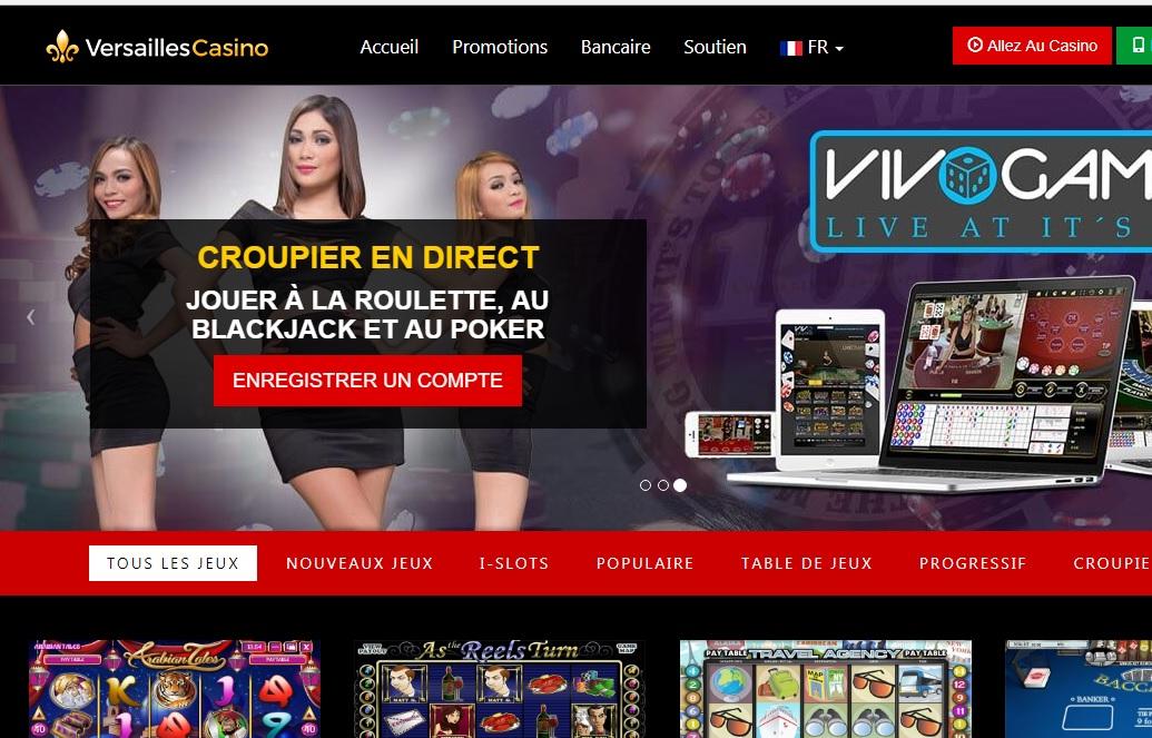 Versailles Casino online