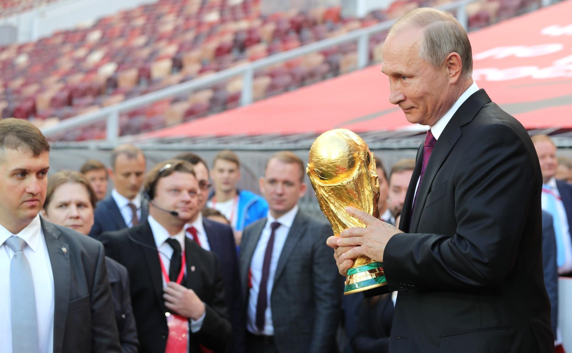 Poetin WK Rusland 2018