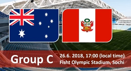 Wedden op Australië - Peru WK 2018