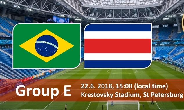 Wedden op Brazilie - Costa Rica WK 2018