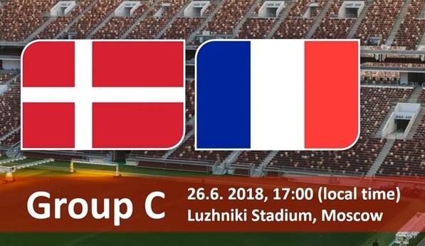 Wedden op Denemarken - Frankrijk WK 2018