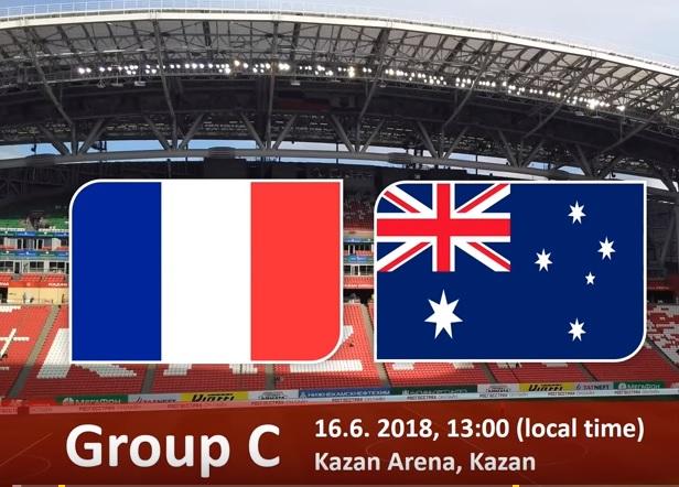 Wedden op Frankrijk - Australië WK 2018