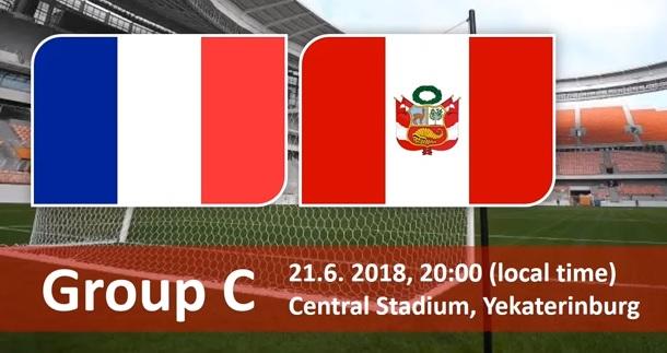 Wedden op Frankrijk - Peru WK 2018