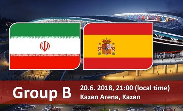 Wedden op Iran - Spanje WK 2018