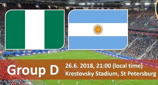 Wedden op Nigeria - Argentinie WK 2018