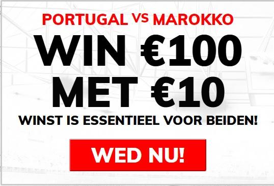 Wedden op Portugal - Marokko WK 2018