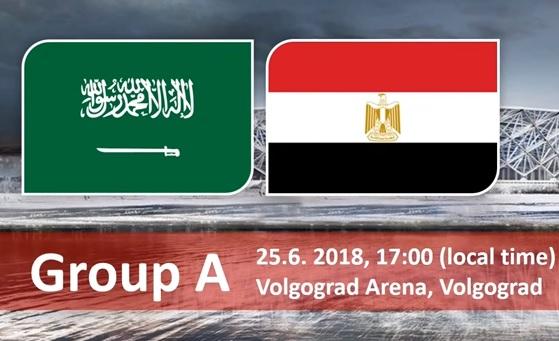 Wedden op Saoedi Arabie - Egypte WK 2018 wedden