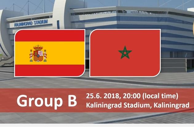 Wedden op Spanje - Marokko WK 2018