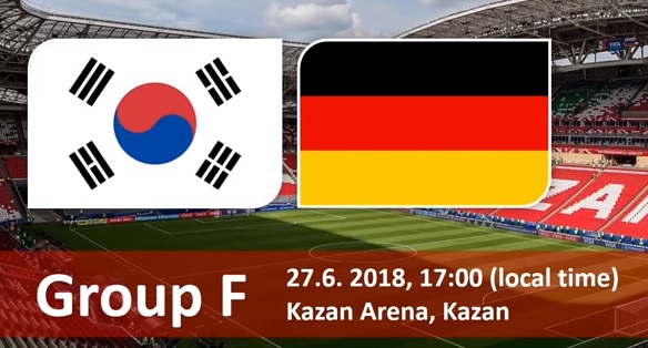 Wedden op Zuid Korea - Duitsland WK 2018