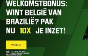 Unibet België Brazilië