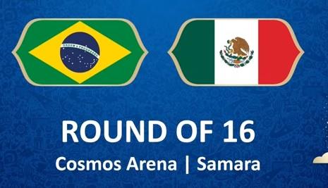 Wedden op Brazilië - Mexico WK 2018